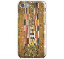 Gustav Klimt - Design For The Stocletfries iPhone Case/Skin