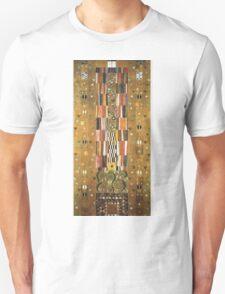 Gustav Klimt - Design For The Stocletfries Unisex T-Shirt
