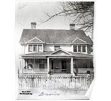 Davis House, Mayfield, Graves County, Kentucky Poster