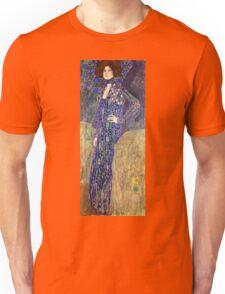 Gustav Klimt - Emilie Floege  Unisex T-Shirt