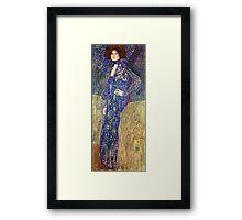 Gustav Klimt - Emilie Floege  Framed Print