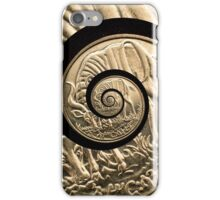 Spinning coin iPhone Case/Skin