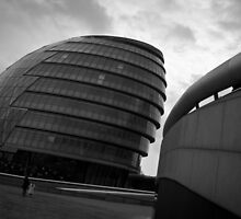 City Hall B/W by Alexandra Vaughan Photography