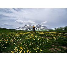 Near Mountain Oshten Photographic Print