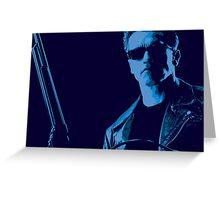 Terminator film still edit Greeting Card