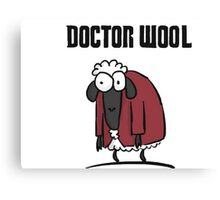Doctor Wool Canvas Print