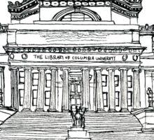 Low Library, Columbia University Sticker