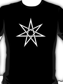 Elven Star, Fairy Star, Magical Heptagram, Wicca, Pagan T-Shirt