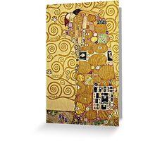 Gustav Klimt - Fulfilment  Greeting Card