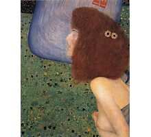 Gustav Klimt - Girl With Blue Veil, 1902 Photographic Print