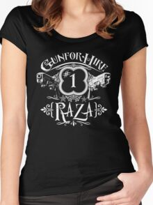 Raza Gun For Hire #1 Women's Fitted Scoop T-Shirt