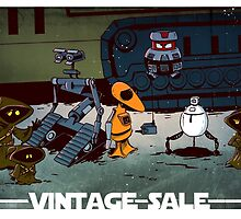 Vintage robots for sale by tupa
