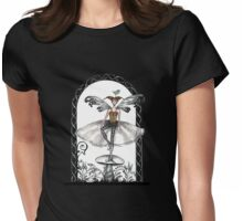Steampunk fairy Womens Fitted T-Shirt