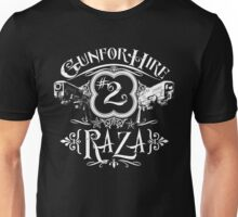 Raza Gun For Hire #2 Unisex T-Shirt