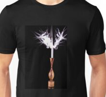 Candle on fire Unisex T-Shirt