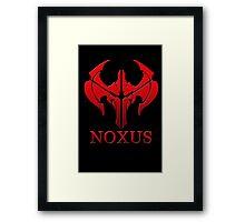NX Framed Print