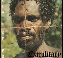 Death Grips -Exmilitary Album Art by Haydenb28