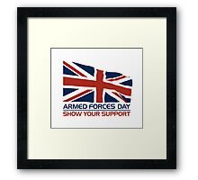 Armed Forces Day Framed Print