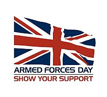 Armed Forces Day Photographic Print