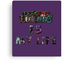 My Life Canvas Print