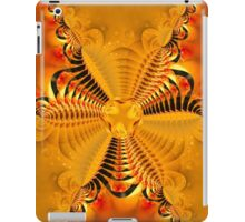 Twisting and turning colorful shapes iPad Case/Skin