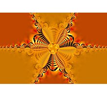 Twisting and turning colorful shapes Photographic Print