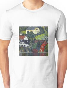 Gustav Klimt - Houses At Unterach On The Attersee Unisex T-Shirt