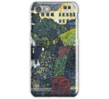 Gustav Klimt - Houses At Unterach On The Attersee iPhone Case/Skin