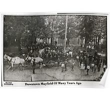 Downtown Mayfield of many years ago Poster