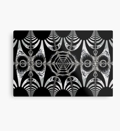 Abstract shapes and patterns Metal Print