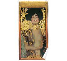Gustav Klimt - Judith And The Head Of Holofernes 1901 Poster