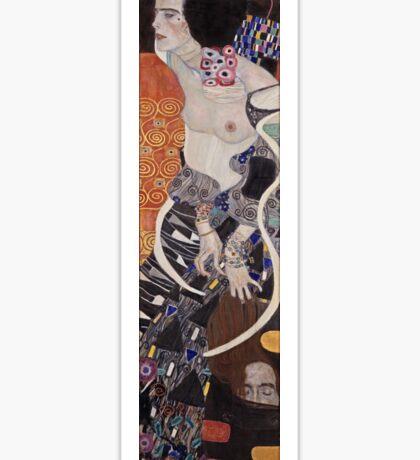 Gustav Klimt - Judith Ii Salome 1909  Sticker
