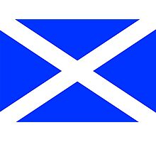 Scottish Flag Photographic Print