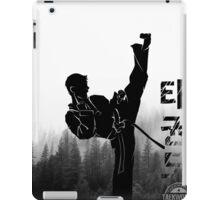 Taekwondo Korean High Kick iPad Case/Skin