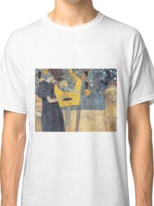 Gustav Klimt - Music 1 1895 Classic T-Shirt