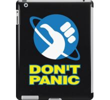 Hitchhiker's Guide To The Galaxy (Don't Panic) iPad Case/Skin