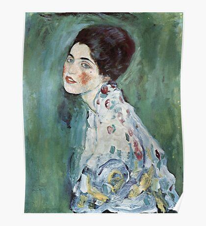 Gustav Klimt - Portrait Of A Lady 2 Poster