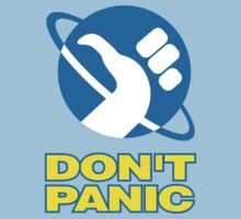 Hitchhiker's Guide To The Galaxy (Don't Panic) Kids Clothes