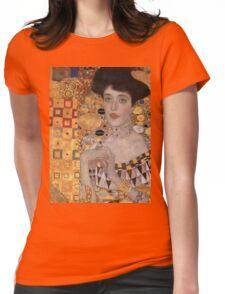 Gustav Klimt - Portrait Of Adele Bloch-Bauer, 1907 Detal 2 Womens Fitted T-Shirt