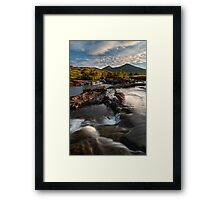 Coladoir River, early morning. Isle of Mull. Scotland. Framed Print