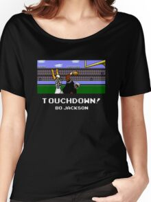 Touchdown! Bo Jackson - Tecmo Bowl (NES) Women's Relaxed Fit T-Shirt