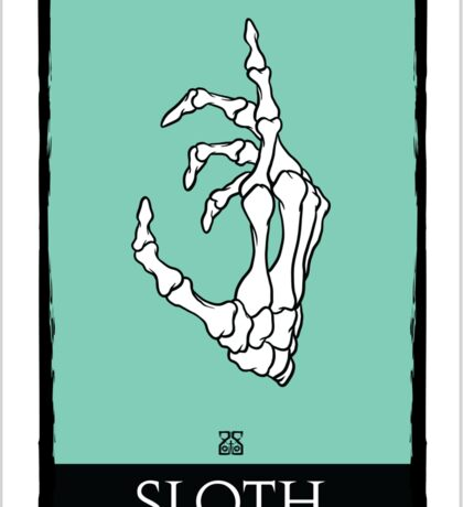 7SINS - SLOTH Sticker