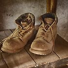 1111 Old Boots by DavidsArt