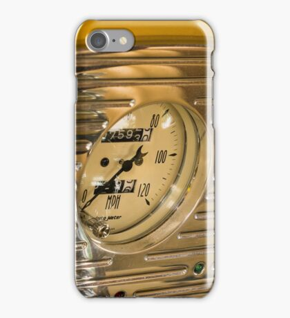 Chrome Auto Dashboard and Gauges iPhone Case/Skin