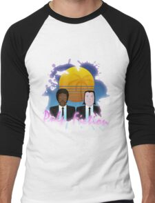 80s Inspired Pulp Fiction Men's Baseball ¾ T-Shirt