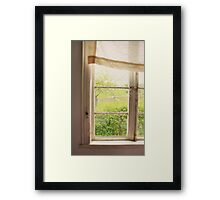 Master Bedroom - tribute to Andrew Wyeth Framed Print