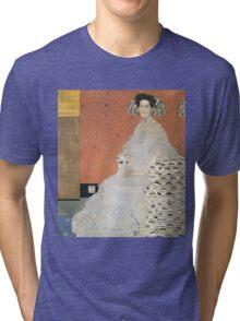 Gustav Klimt - Portrait Of Fritza Riedler 1906 Tri-blend T-Shirt