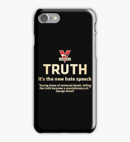 1984 Orwell Truth iPhone Case/Skin