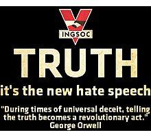 1984 Orwell Truth Photographic Print