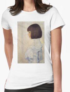 Gustav Klimt - Portrait Of Helene Klimt Womens Fitted T-Shirt